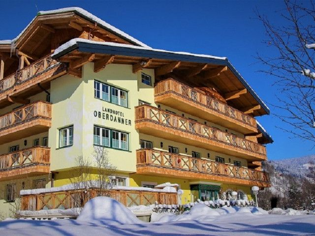 Landhotel Oberdanner in Hinterglemm im Winter