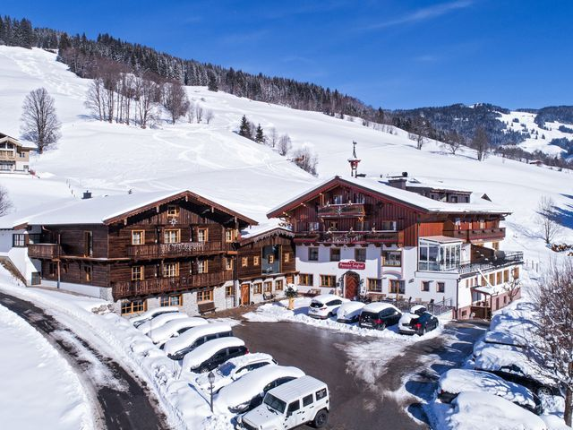 Seighof in Saalbach im Winter